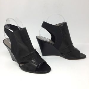 Vince Camuto Vado Genuine Leather Wedge Booties